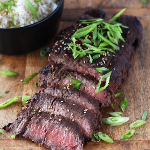 Grilled Flat Iron Steak Butter And Things